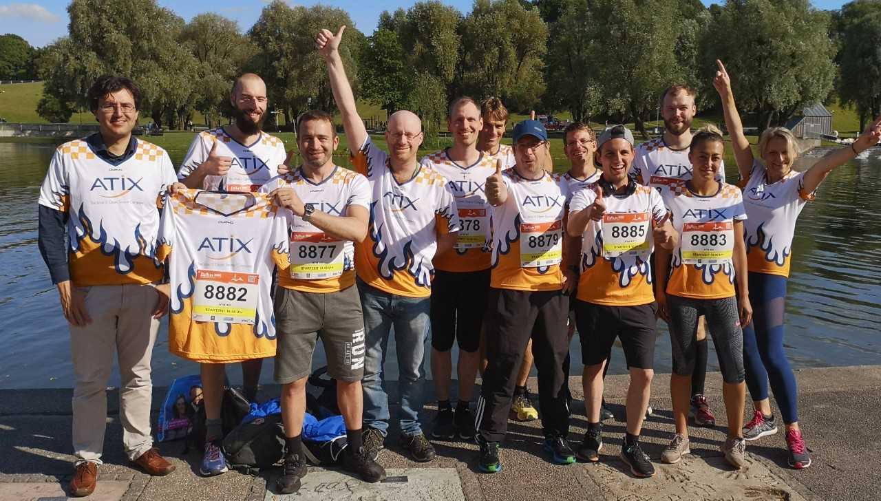 ATIX crew & Olympiasee